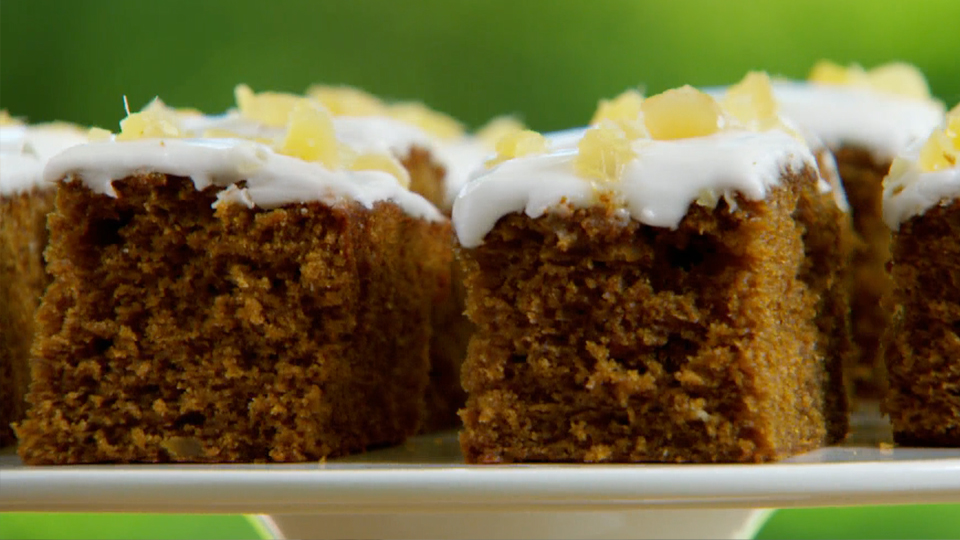 Ginger and Treacle Spiced Traybake Recipe | PBS Food