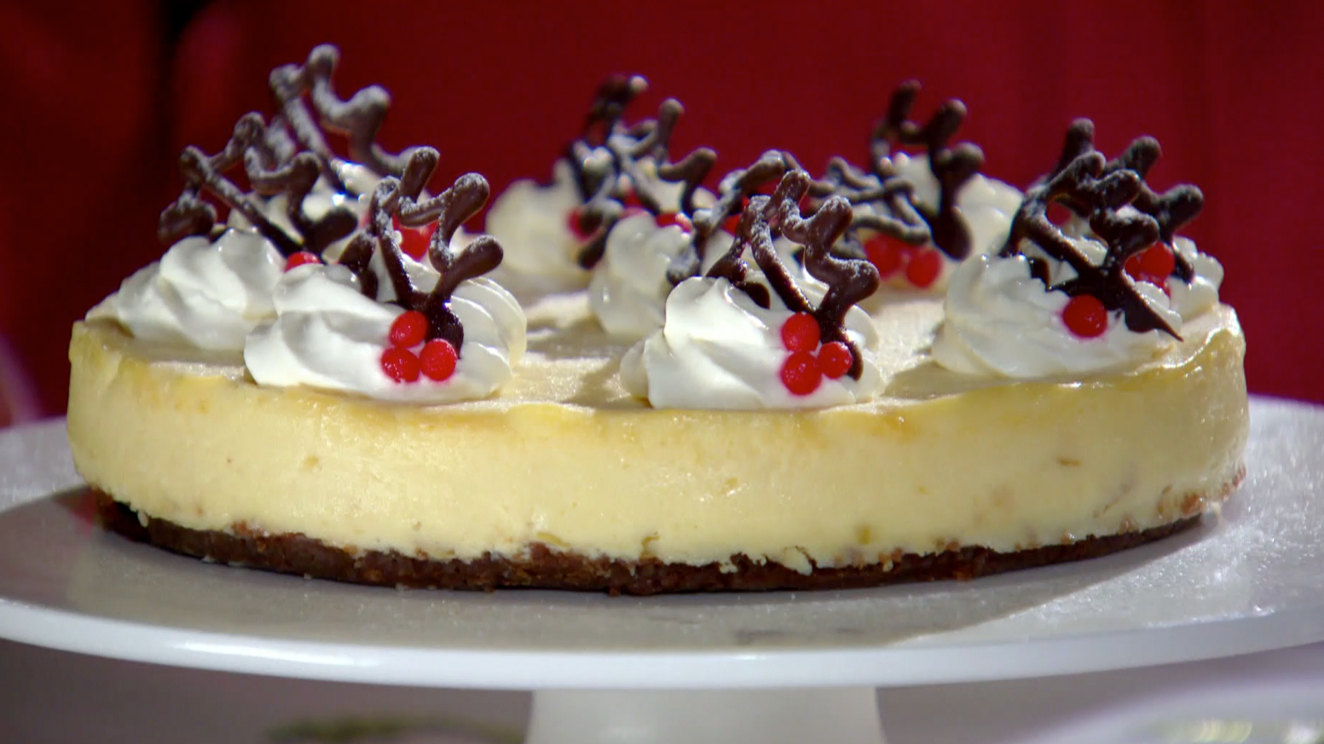 Mary's White Chocolate & Ginger Cheesecake Recipe   PBS Food