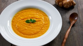 Carrot Ginger and Turmeric Soup