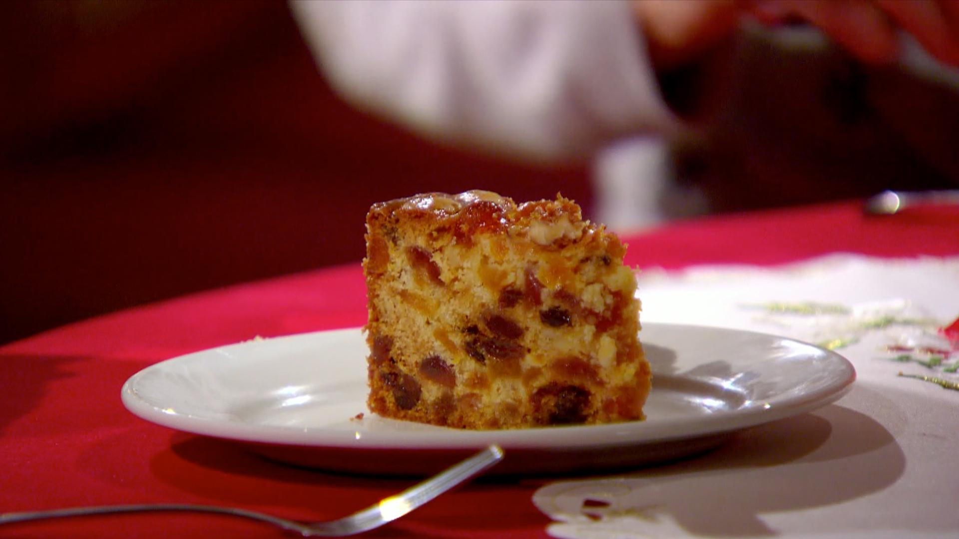 Christmas Genoa Cake Recipe