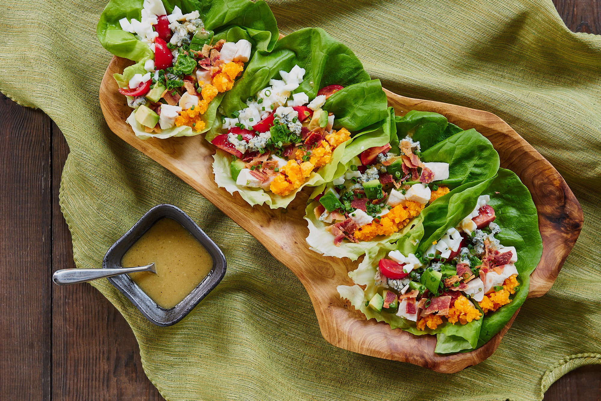 Cobb Salad Wrap Recipe Pbs Food