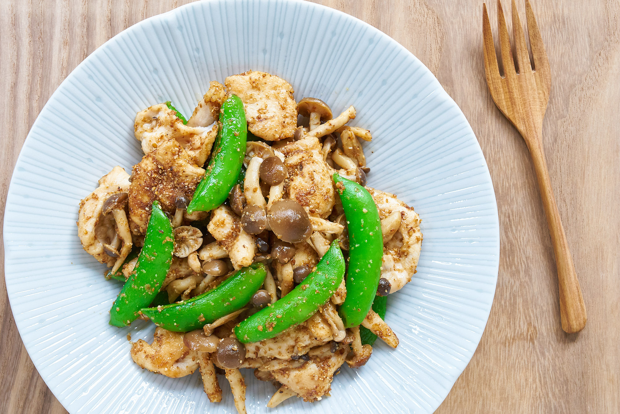 Need an Easy Dinner? Savor Over Sesame Snap Pea Chicken