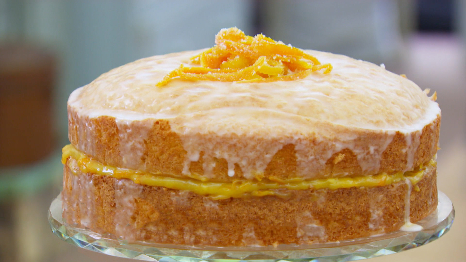 Recipes Using Lemon Drizzle Cake: St. Clements Orange And Lemon Drizzle Cake Recipe