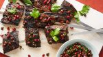 pomegranate steak kebab
