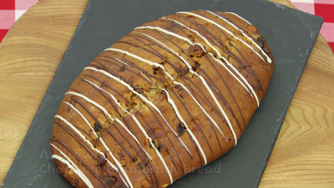 Chocolate Barmbrack Bread Recipe | Great British Baking ...