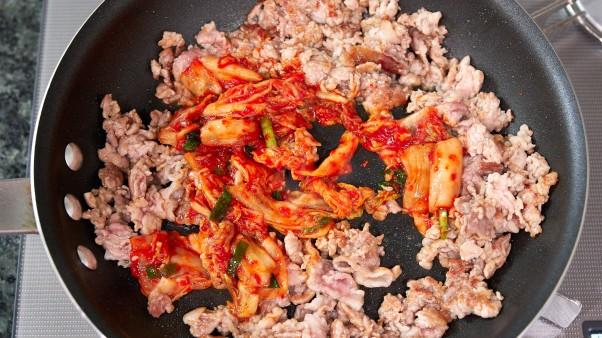 Kimchi Bean Sprouts