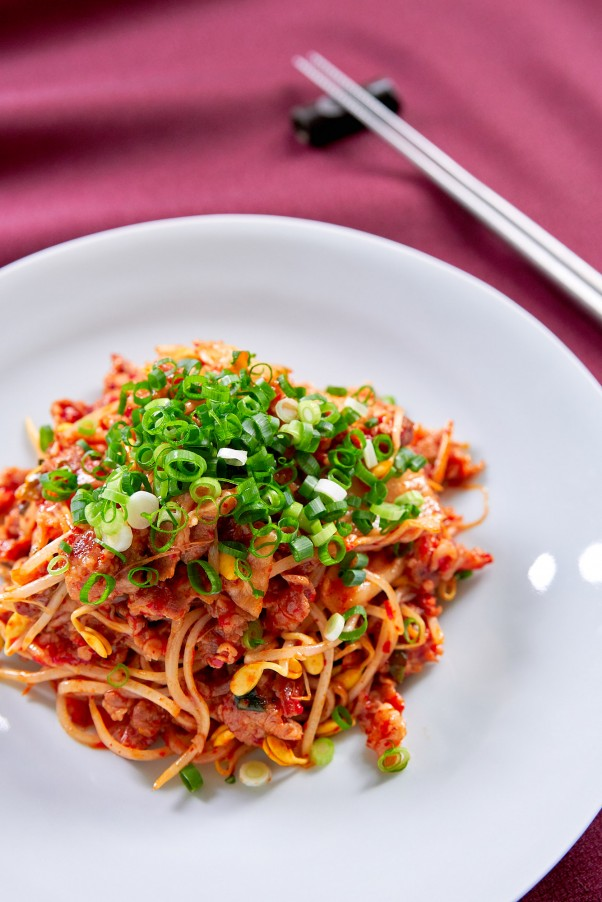 Kimchi Bean Sprouts