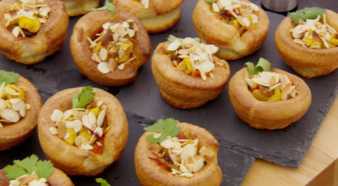 Yorkshire Pudding For 2 >> Yorkshire Tapas Puddings Recipe Great British Baking