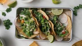 Caesar Salad Tacos