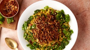 Herbed Barley Salad Recipe