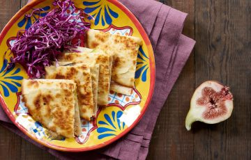 Fig and Gouda Quesadilla