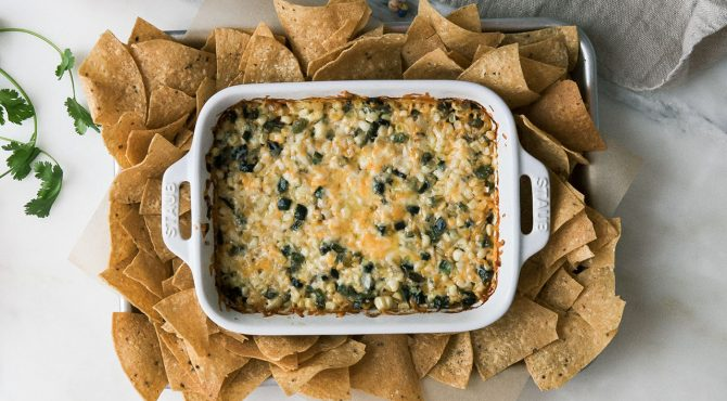 Cheesy Corn Dip horizontal