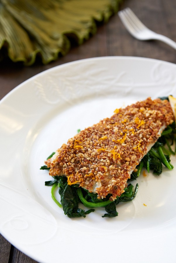 Warm Your Belly With Almond Crusted Sole Fresh Tastes