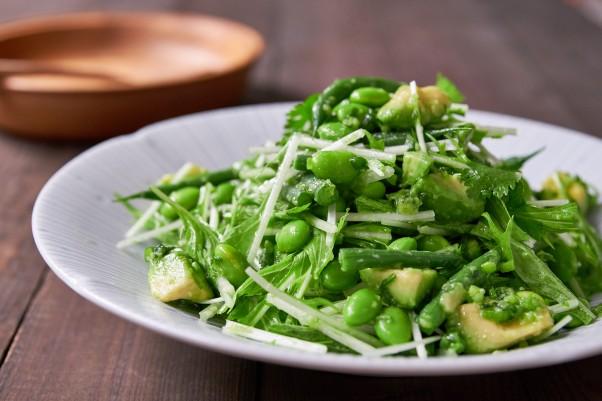 Avocado Edamame Salad