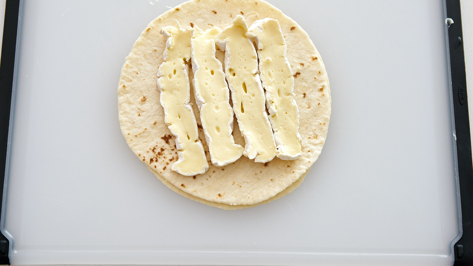 Brie and Blackberry Quesadilla