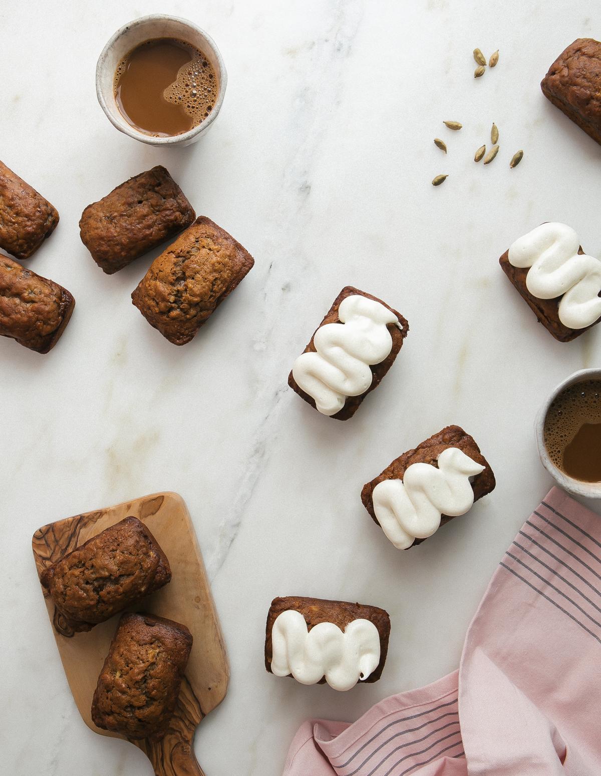 mini chai banana breads-2
