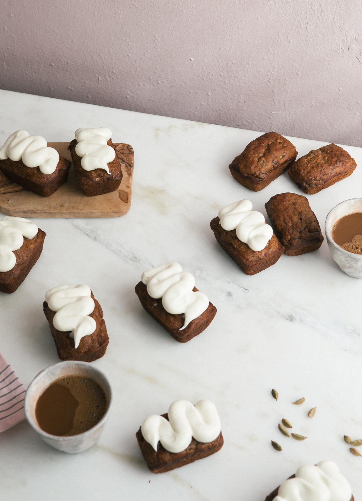 mini chai banana breads-3