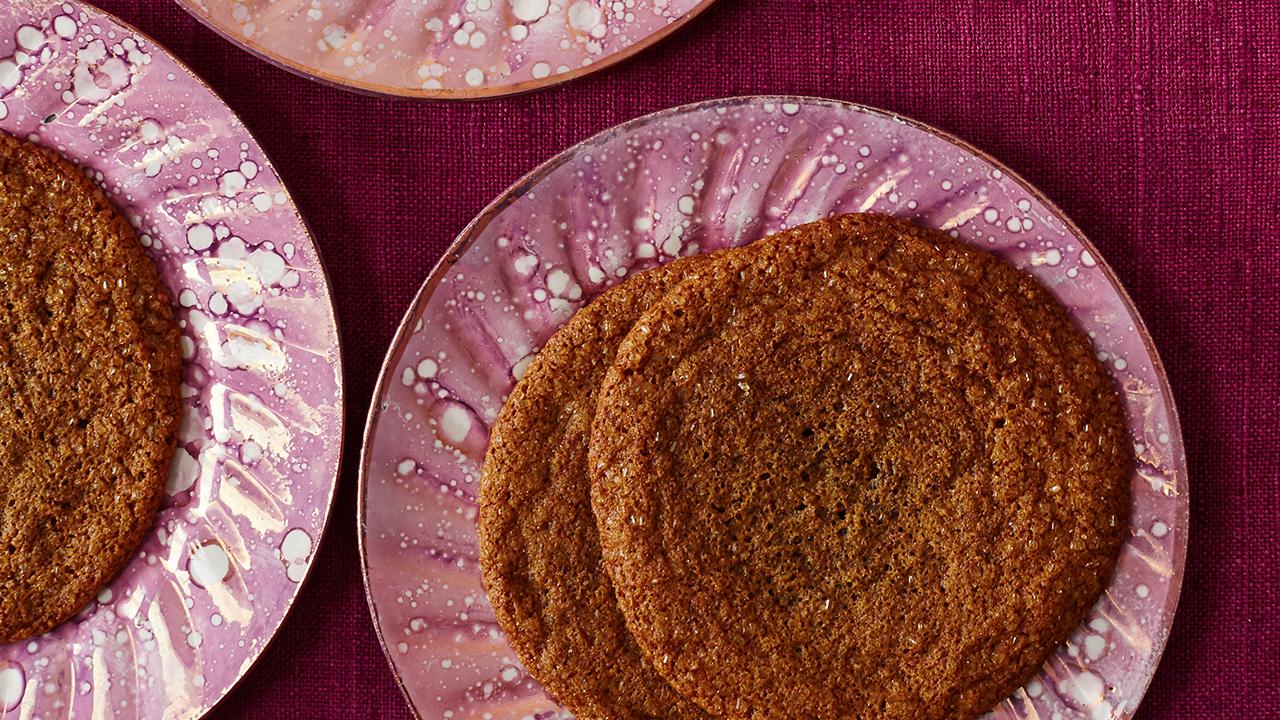 Martha Bakes Cookiesmideastern Cookies: Chewy Molasses Crinkles Recipe