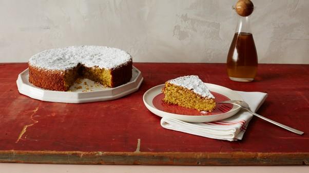 Lemon Cornmeal Cake Gluten Free