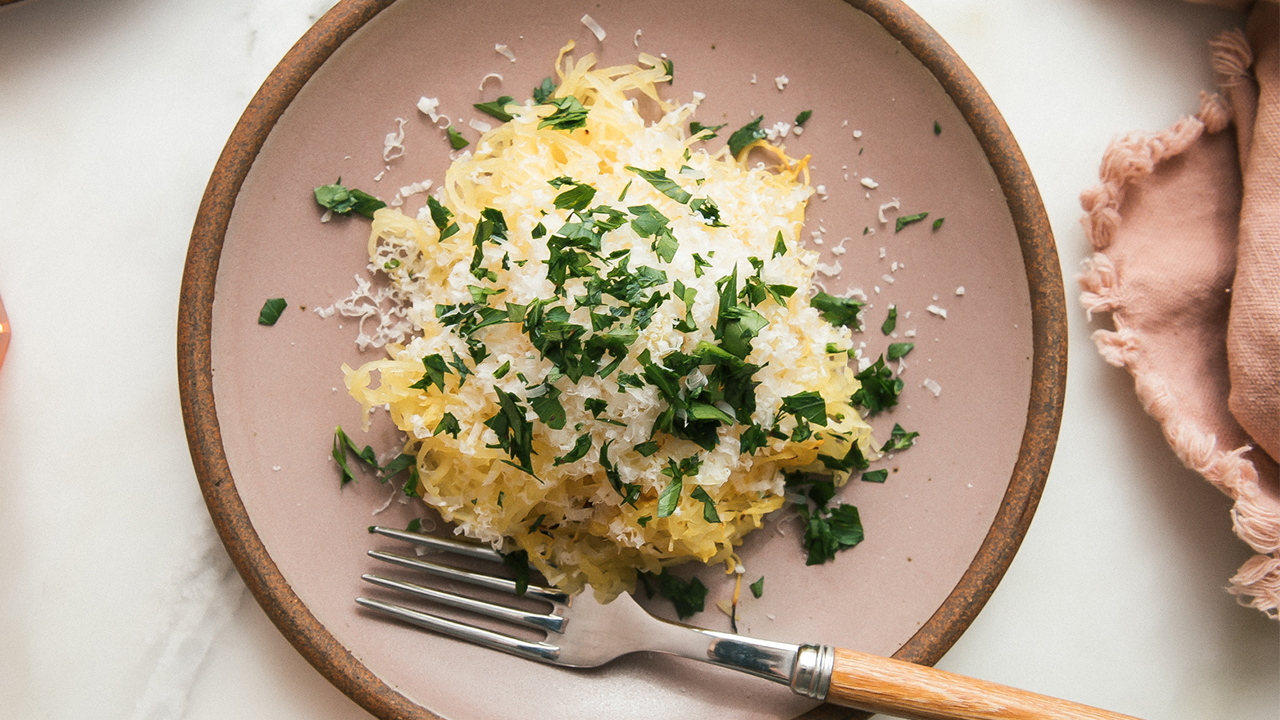 Simplest Way to Make and Eat Spaghetti Squash