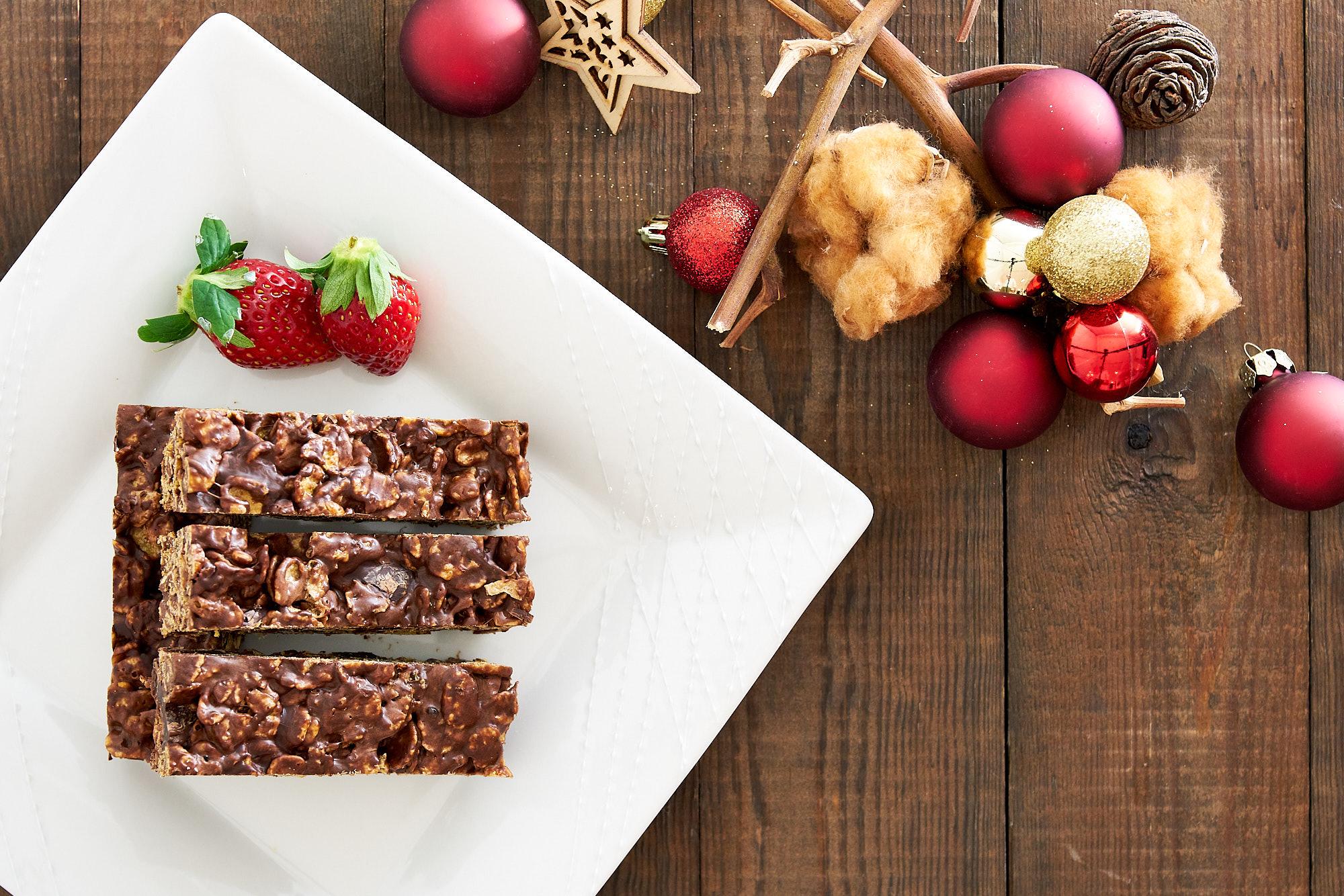 Kid Friendly Chocolate Cornflake Bars | Fresh Tastes Blog ...