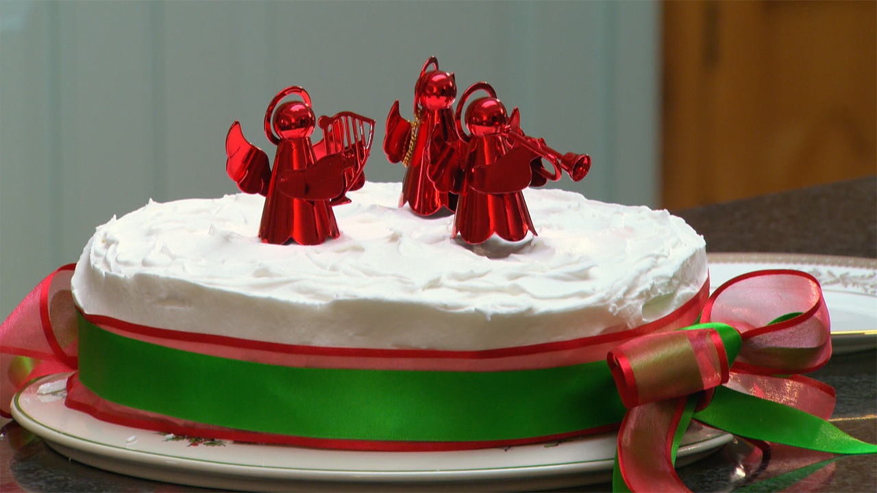 Mary S Christmas Cake Recipe Pbs Food