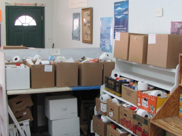 Boxes organized by family size. © The Pantry