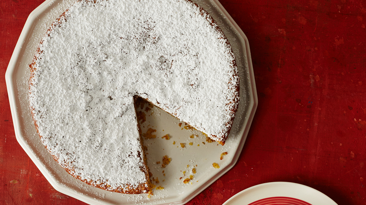 Lemon-Cornmeal Cake Recipe | PBS Food