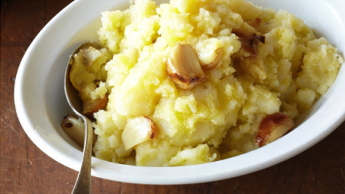 Olive Oil Mashed Potatoes