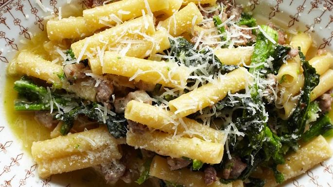 Ziti with Broccoli Rabe and Sausage