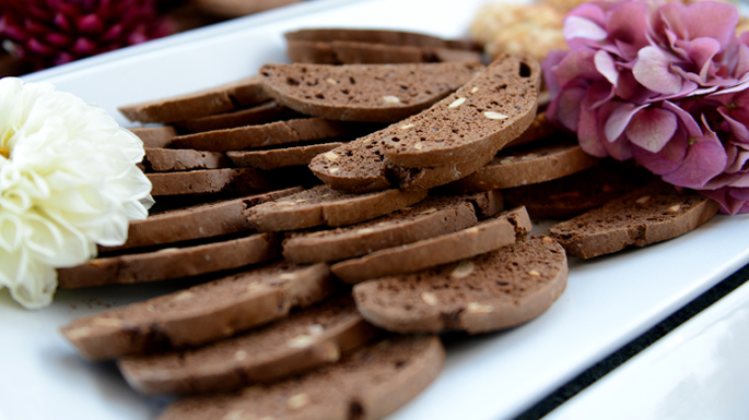 Chocolate Anise Biscotti