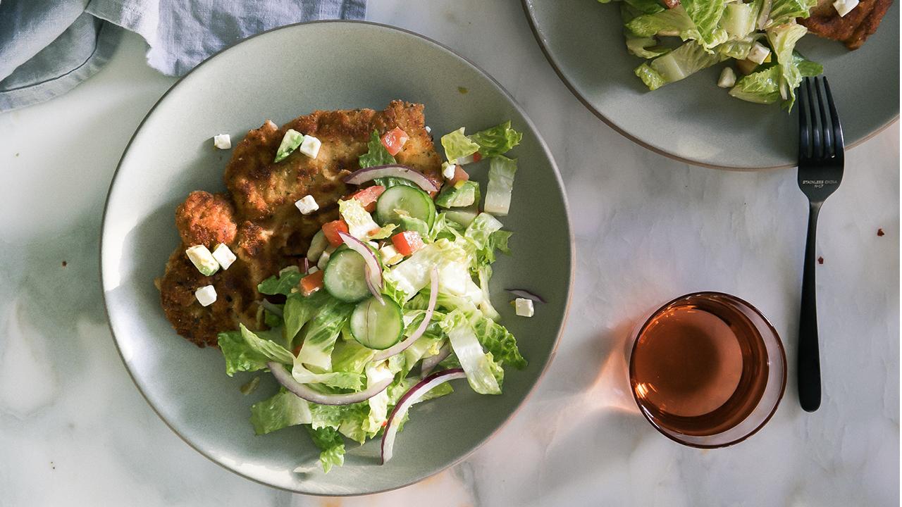 Greek Chicken Milanese | Fresh Tastes Blog | PBS Food