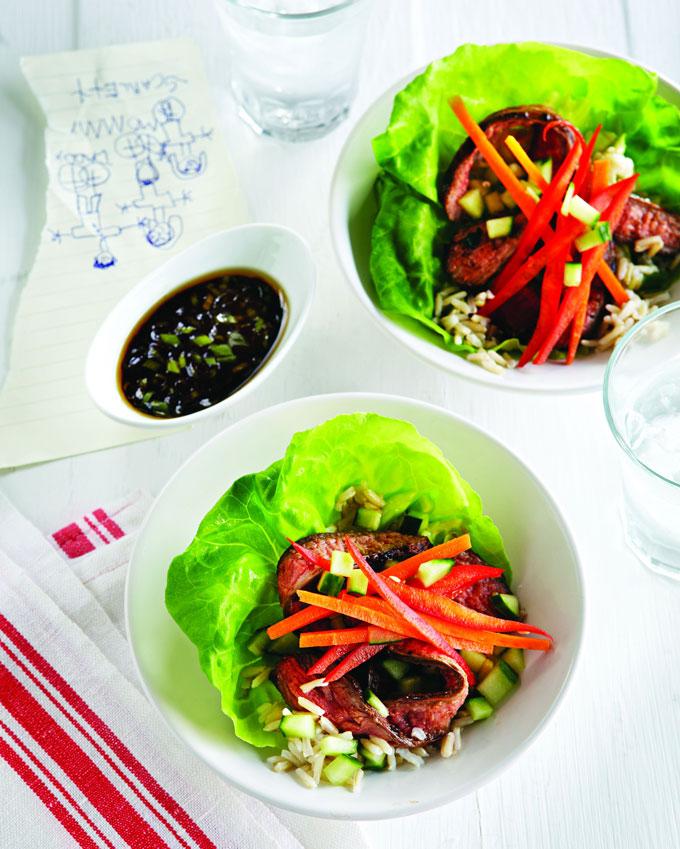 Beef-Lettuce-Wraps