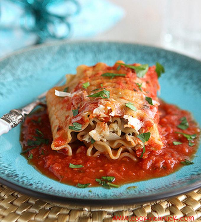Cookin' Canuck Turkey Lasagna Rolls