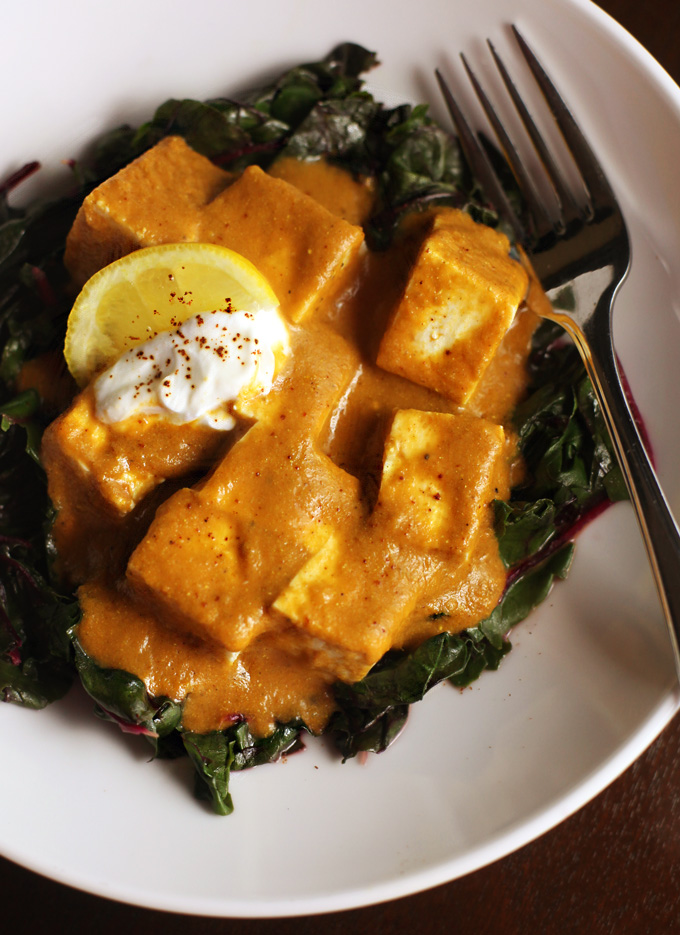 Curry-Tofu-Swiss-Chard