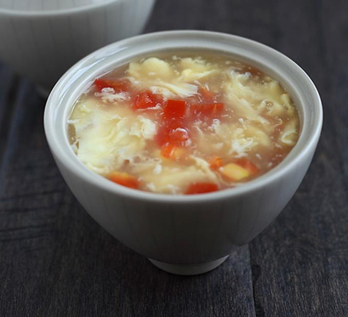 Egg Drop Soup by Rasa Malaysia