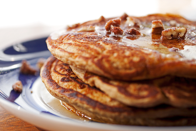 Sweet Potato Pancakes by Food Hungry