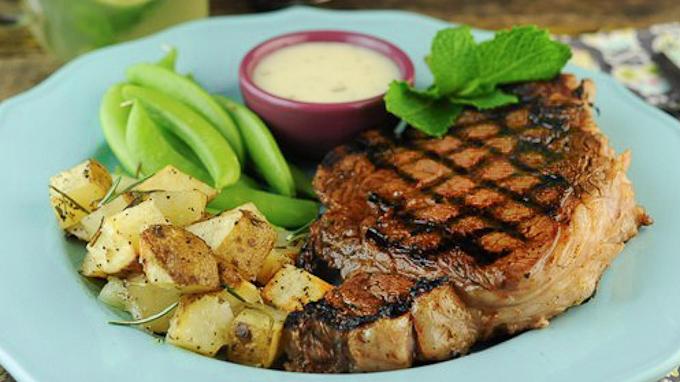 Grilled Steak Mojito