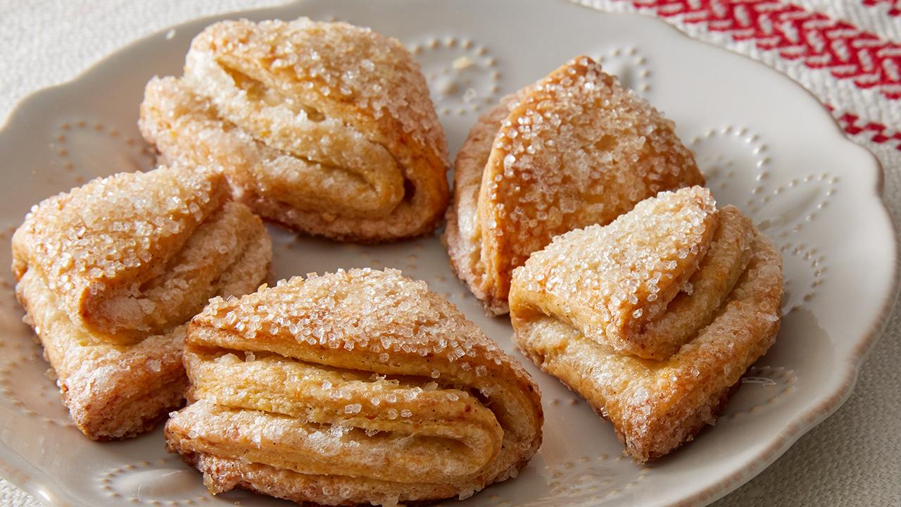 Martha Bakes Cookiesmideastern Cookies: Goose Feet Cookies (Gusinie Lapki) Recipe