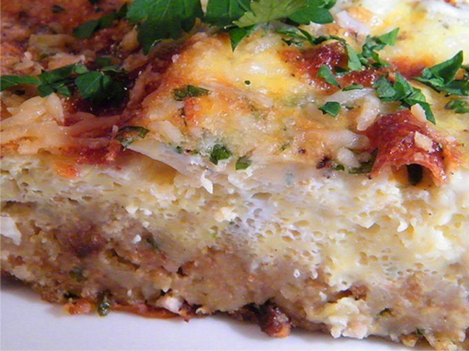 Stuffing Frittata by My Last Bite