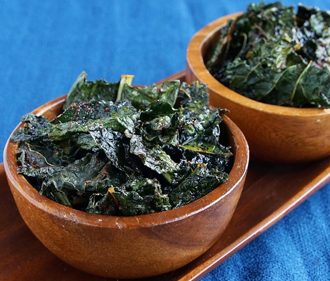 Crunchy Chili Kale Chips by My San Francisco Kitchen