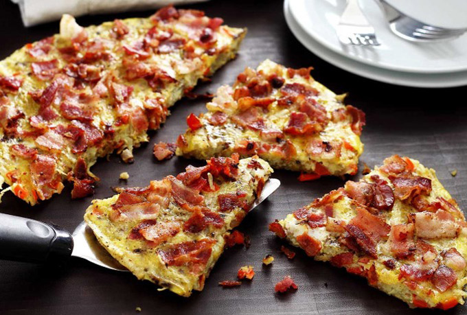 Paleo Potato & Bacon Pancake by Paleo Newbie