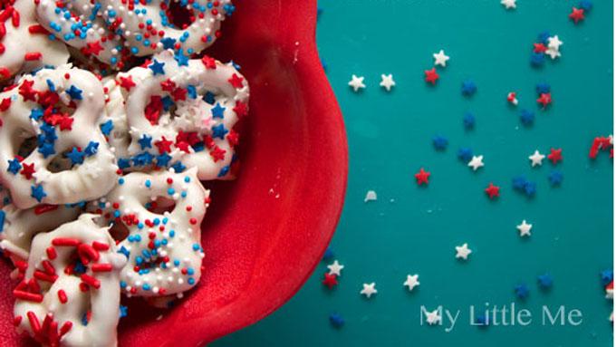 Patriotic Pretzels by My Little Me