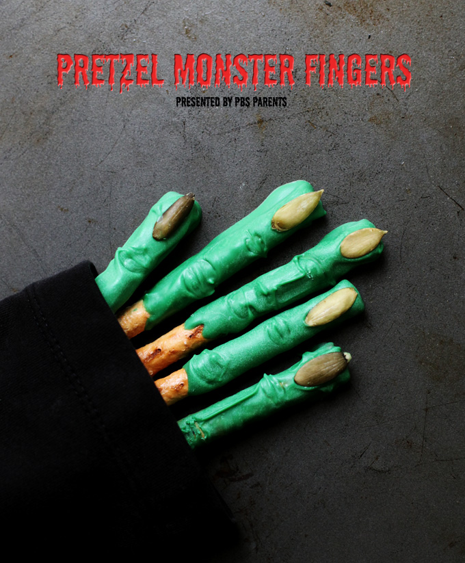 Pretzel-Monster-Fingers