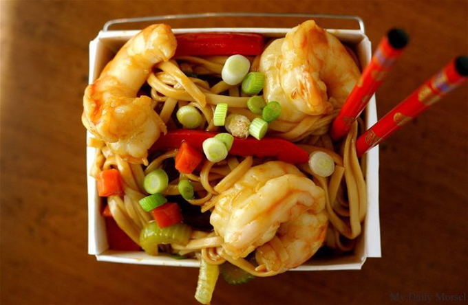 Shrimp Lo Mein by My Daily Morsel