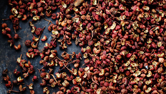 Sichuan-pepper-corns