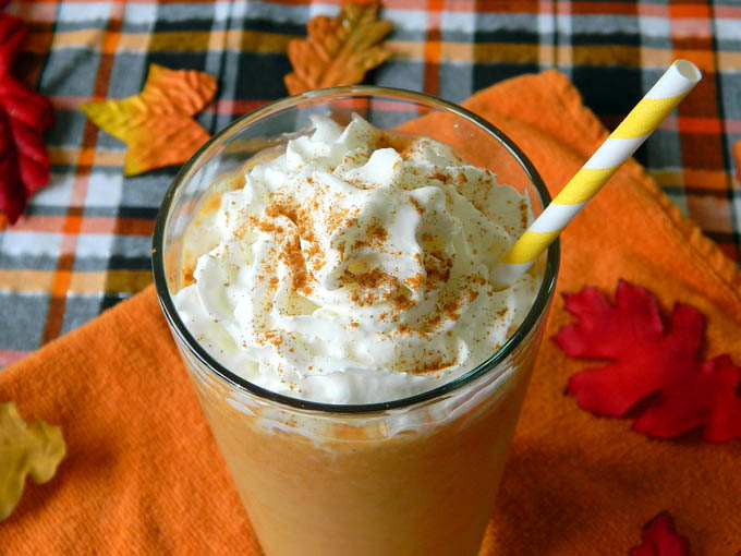 Pumpkin Spice Smoothie by Tattooed Martha