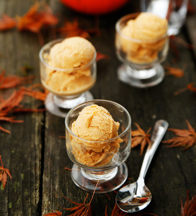 Dairy-Free, Vegan Pumpkin Spice Ice Cream