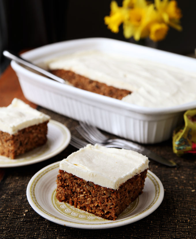 Classic carrot cake kitchen explorers pbs food for Classic starter recipes