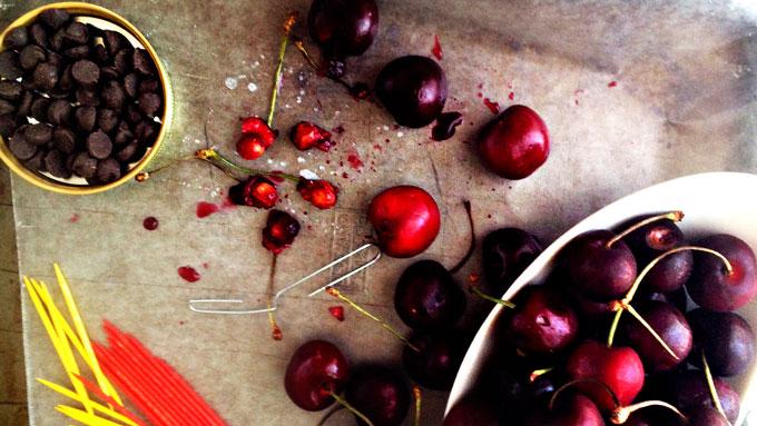 chocolate-cherries